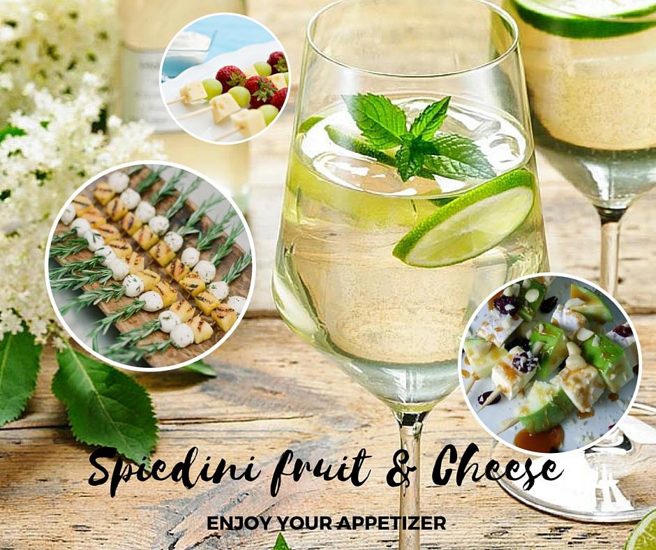 Spiedini fruit & Cheese