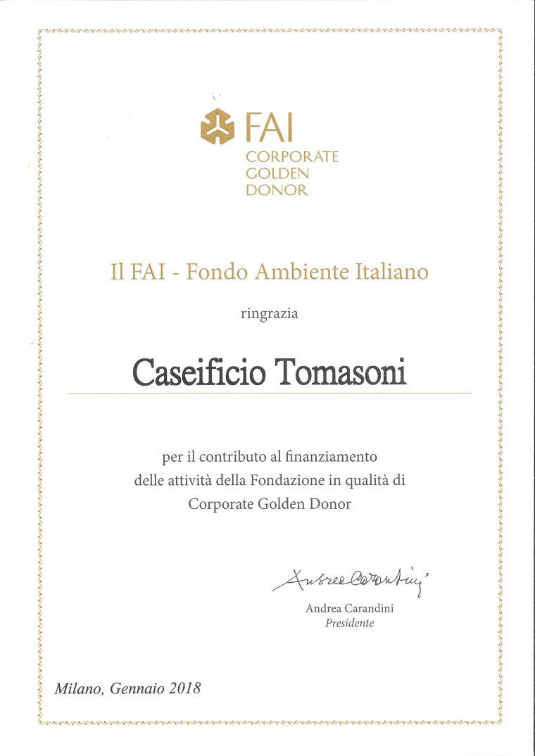 certificato FAI